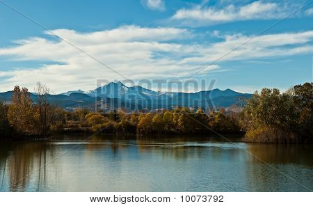 Golden Ponds and Longs Peak