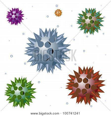 Vector Aggressive Bacteria