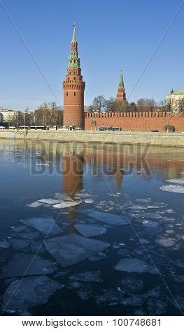 Moscow, Kremlin Tower