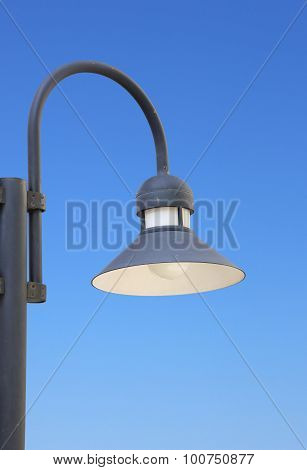 Close Up Of Lamppost