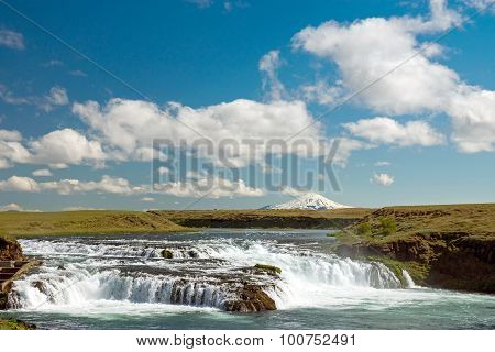 Small waterfall in Iceland