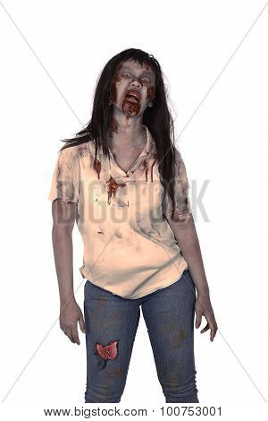 Asian Female Zombie