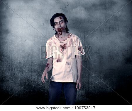 Creepy Male Zombie