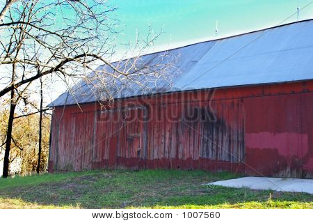 verlassene Milchfarm