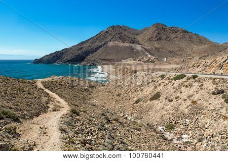 Cove at Cabo del Gata, Almeria, Spain