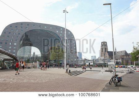 City Center Of Rotterdam, The Netherlands