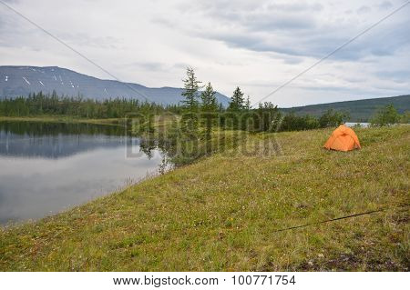 Tent In The Tundra.