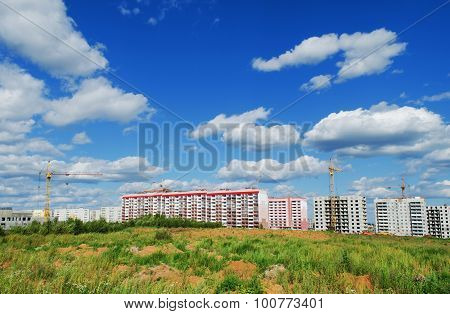 . The Construction Of A Residential District