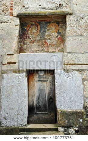 Densus Church Door