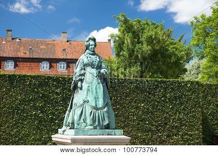 Monument To Caroline Amalie, Queen Of Denmark, Copenhagen