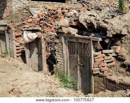 Nepal Earthquake Rubble