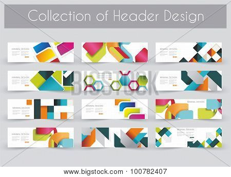 Mega Pac Kheader Design Template Set