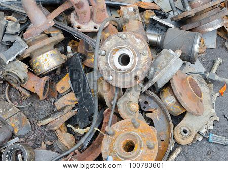 Useless, Worn Out Rusty  Parts