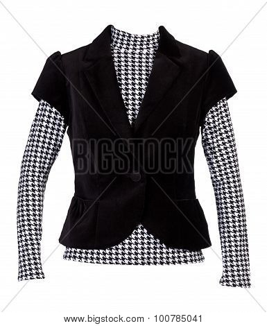 Blouse With A Pattern Of
