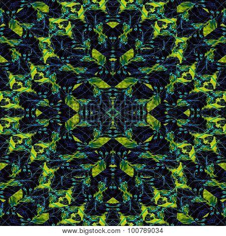Modern Geometric Tribal Pattern