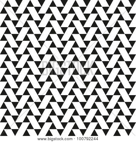 Seamless Triangle Parallologram Pattern
