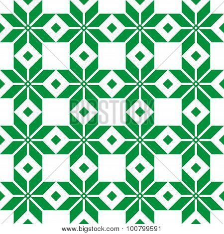 Belorussian Sacred Ethnic Ornament, Seamless Pattern. Vector Illustration. Slovenian Traditional Pat