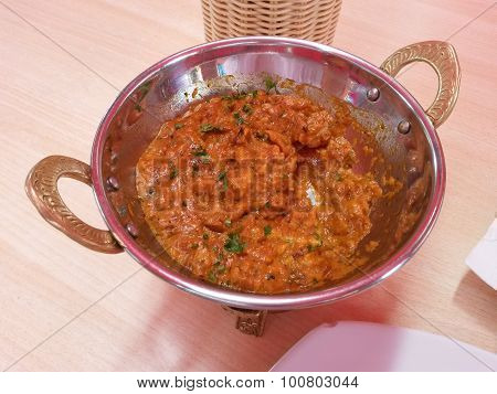 Indian Punjabi Aubergine Dish