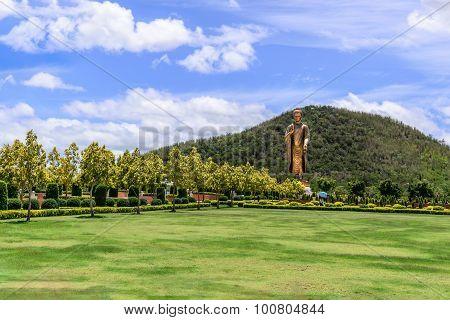 Phra Buddha Metta Pracha Thai Trai Lokanat Gandhara Anusorn memorial statue Under The Royal Patronag