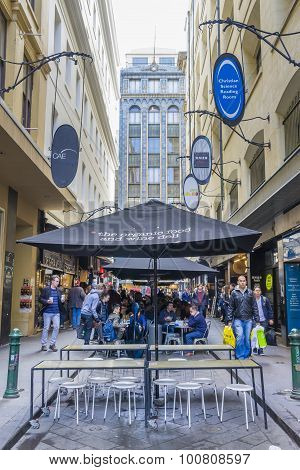 Laneway Cafes In Melbourne