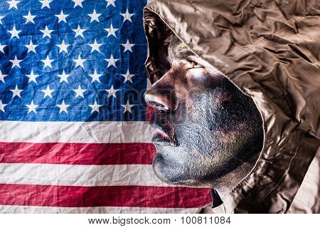 Patriotic Elite Soldier