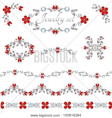 Jewelry decoration elements
