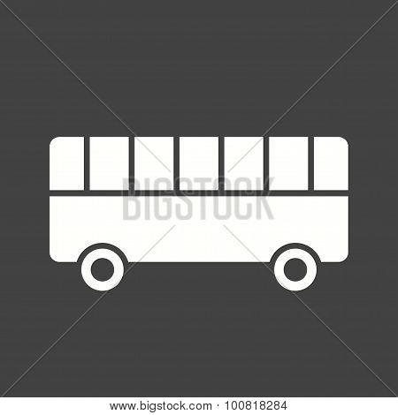 Toy Bus Icon