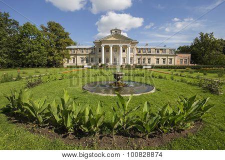 Krimulda Manor In Sigulda, Latvia