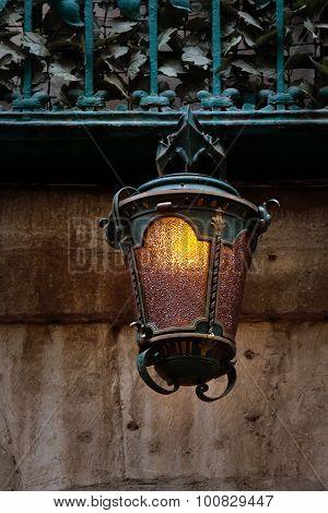 Wrought Iron Ancient Lantern