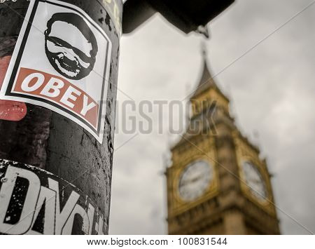 Obey And Big Ben Tourist Attraction