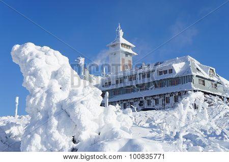 Winter on the Fichtelberg
