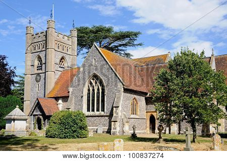 St Marys Church, Hambledon.