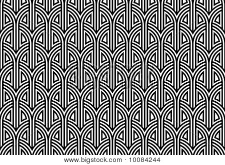 Netting Seamless Pattern.