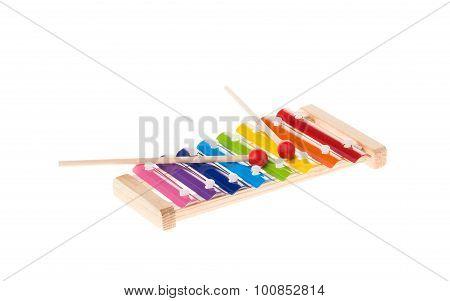 Xylophone Isolated