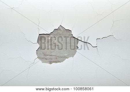 Cracks On Ceiling