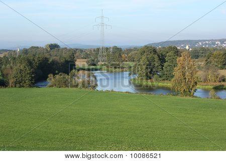 River Naab near to GÃgglbach
