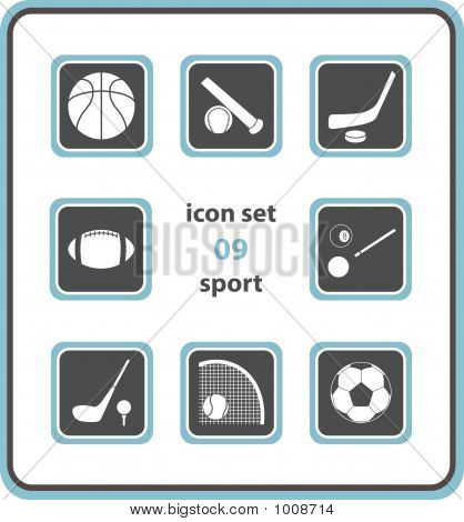 Vector Icon Set 09: Sport