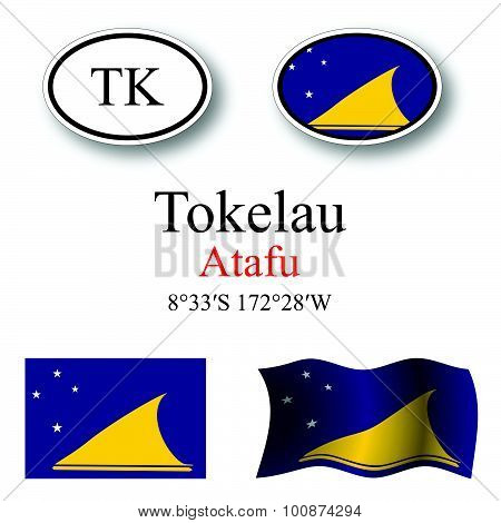 Tokelau Icons Set