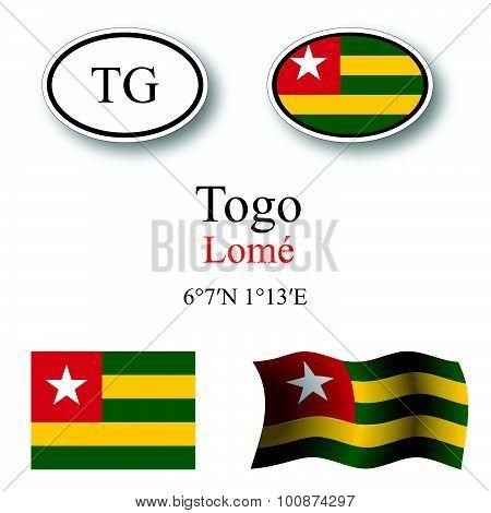 Togo Icons Set