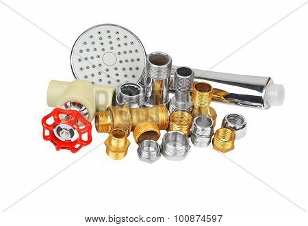 Plumbing fitting, tap and showerhead