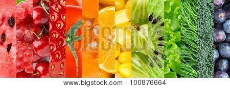 Healthy Fresh Food Background
