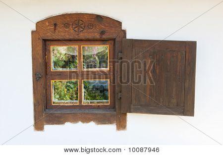 Window Is Wooden