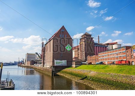 In The West Of Bremen City - Industrial Quarter
