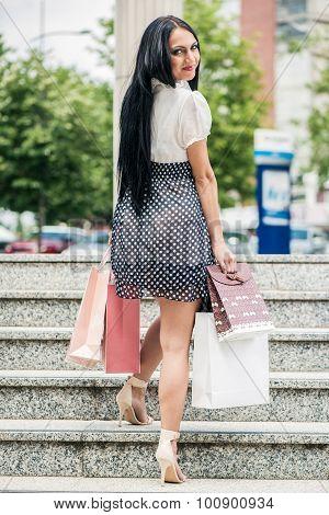 Woman In Shopping