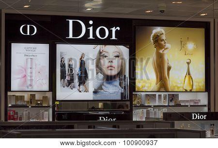 Christian Dior Makeup Display