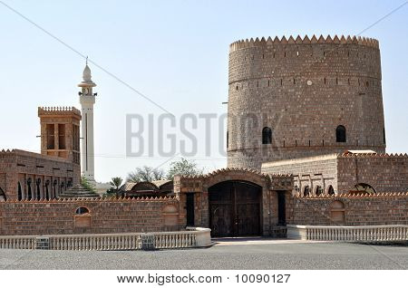 Old  Fort In Ras Al Khaimah. United Arab Emirates