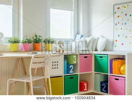 Unisex Kids Room Design