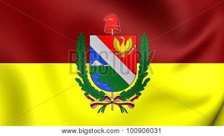 Flag Of Tolima Department, Colombia.