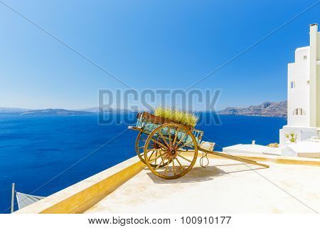 Santorini, Greece - Oia typical view