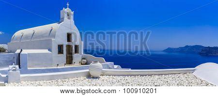 Santorini, Greece - Oia typical architecture